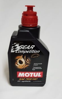 Motul Gear Competition 75W140  1 L - the blue stuff