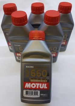 Motul Factory Line 847205 RBF 660 vollsynthetisch DOT4  - 500 ml, Rennsport