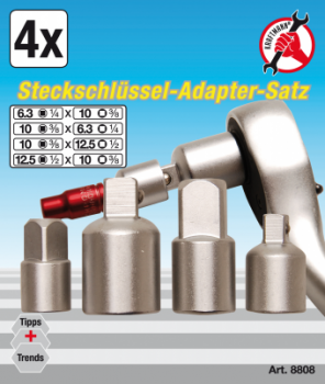Ratchet Adaptor Set | 4 pcs.