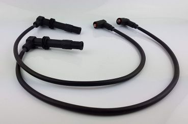 2 pcs.  Ingnition Wires for BMW - 4V - made by tills.de - BLACK