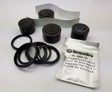 Brake Caliper Pistons and Seals Kit BMW Brembo 36mm 32mm 4 Pistons Genuine Part 34112338257