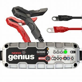 NOCO GENIUS BATTERY CHARGER G3500UK 6/12V 3.5A LITHIUM COMPATIBLE
