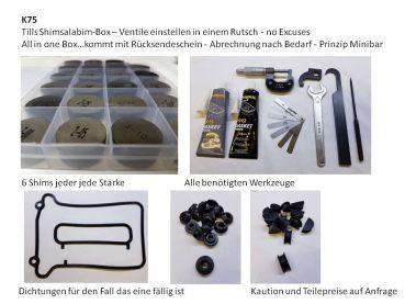 Shims 29mm Ventileinstellscheiben K75 K100 F650 und einige YAMAHA Honda Kawa