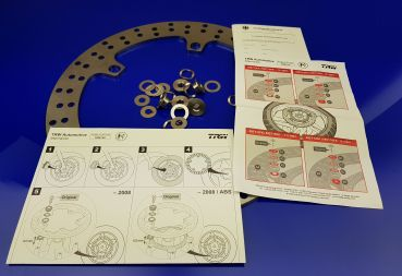 Breakdisc front incl fixing Set R850/R1100/R1150/R1200/K1200-1300-1600-S1000