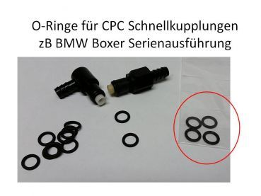 replacement seals for CPC Quickconnectors replacing 13537700797