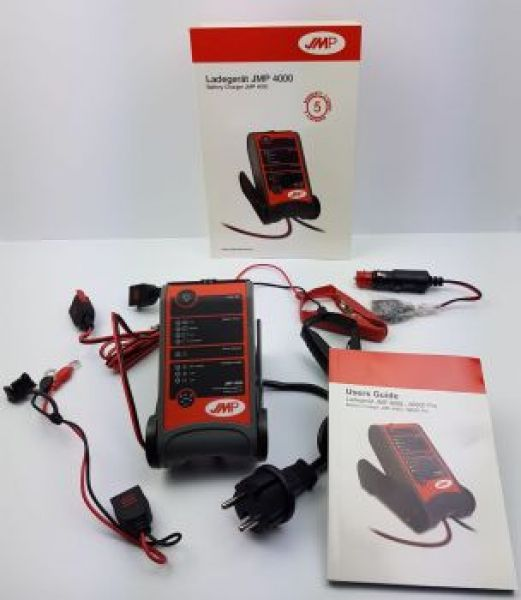 BATTERY CHARGER JMP4000 12V 1A/4A