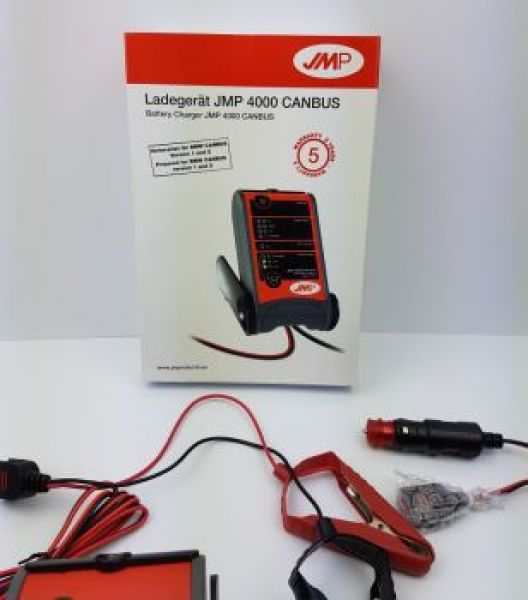 BATTERY CHARGER JMP4000 12V 1A/4A - CanBus Option