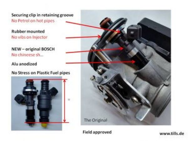 R1100xx Injector upgrade NEW INJECTORS
