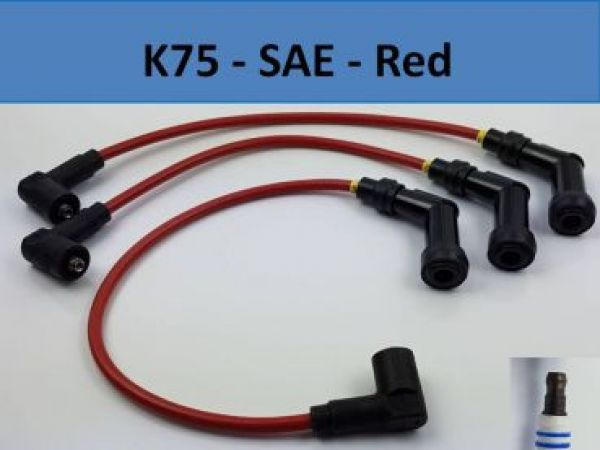 K75 Ignition wires - SAE Connector - red