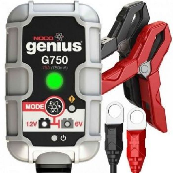 NOCO GENIUS BATTERY CHARGER G750EU 6/12V 0.75A