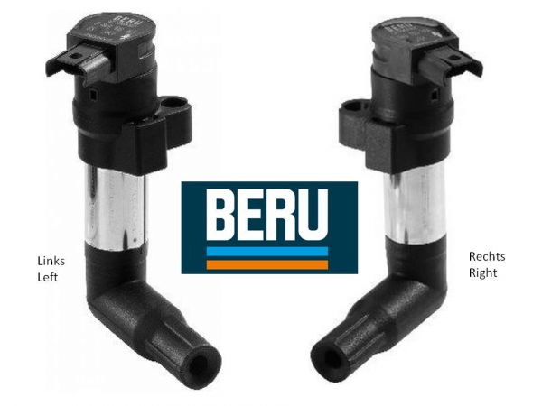 Angle ignition coils - left and right
